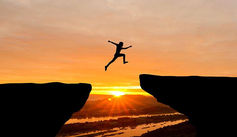 jumping gap